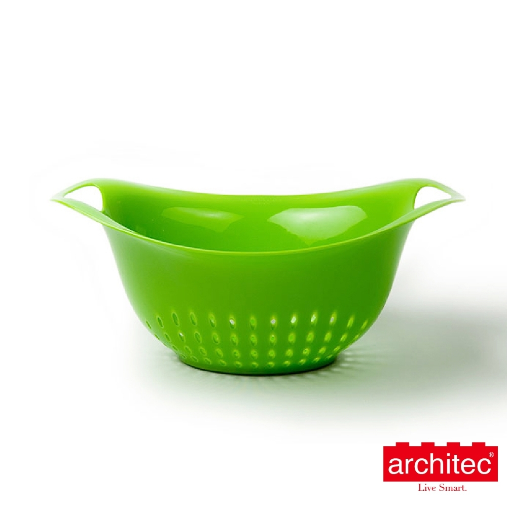 【Architec】樂高防滑濾籃-大( 檸檬綠)