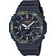 CASIO 卡西歐 G-SHOCK 街頭軍事系列八角電子錶-迷彩綠 GA-2100SU-1A product thumbnail 1