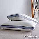 HOYACASA無憂睡眠 乳膠獨立筒彈力枕(二入)