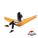 Naturehike 戶外降落傘布輕量單人吊床 橙色-急