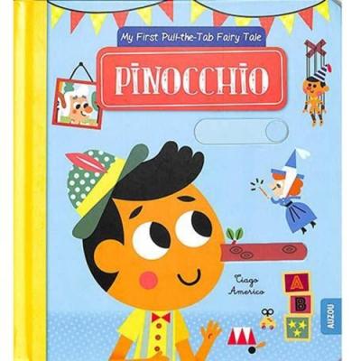 Pinocchio 木偶奇遇記 推拉硬頁書