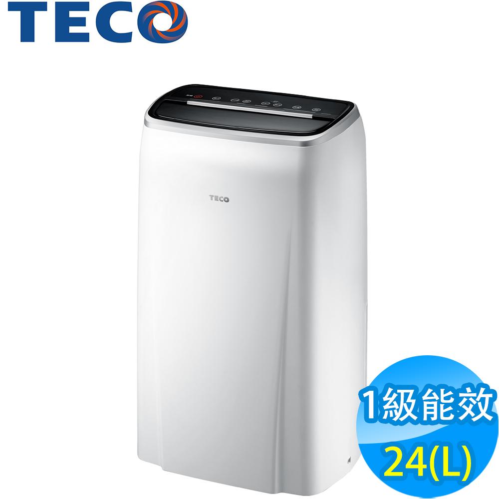 全新福利品 TECO東元 24L 1級負離子清淨除濕機 MD2401RW