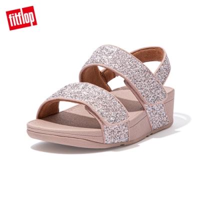 FitFlop MINA GLITTER MIX BACK-STRAP SANDALS後帶涼鞋-女(珊瑚粉)