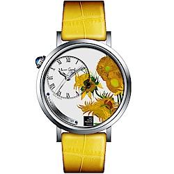 梵谷Van Gogh Swiss Watch梵谷演繹名畫女錶(S-SLS-01)