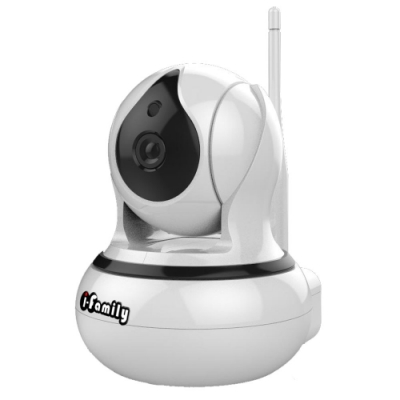 I-Family T105 三百萬畫素室內標準鏡頭AI自動偵測追蹤網路監視器(H.265)