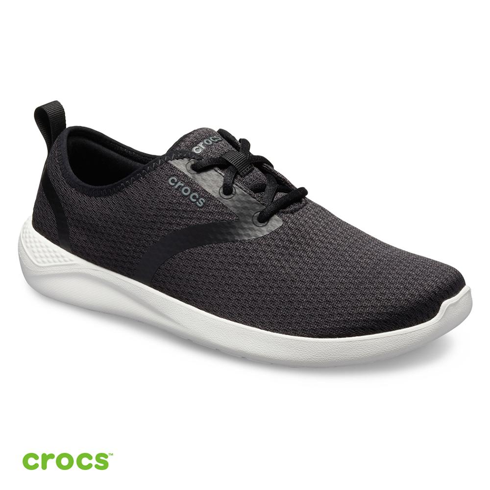 Crocs 卡駱馳 (男鞋) LiteRide男士繫帶鞋 205678-066
