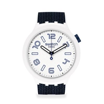 SWATCH BIG BOLD系列手錶DEEP SNOW 度假紳士(47mm)