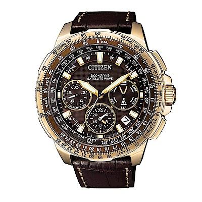 CITIZEN PROMASTER/GPS衛星對時光動能錶/CC9023-13