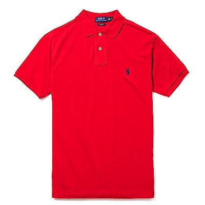 Polo Ralph Lauren 經典電繡小馬Polo衫(Custom)-紅色