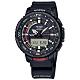 PRO TREK CASIO 卡西歐 釣魚錶 雙顯藍牙連線 潮汐顯示 定時器 防水 手錶-黑色/50mm product thumbnail 1