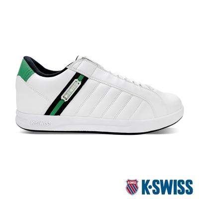K-SWISS Lundahl Slip-On S CMF鞋套式運動鞋-男-白/黑/綠