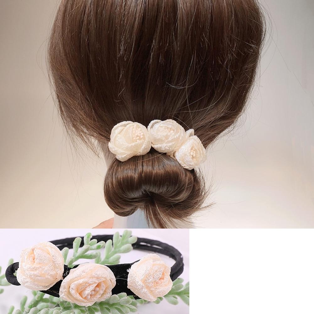 Hera 赫拉 韓式文藝花朵花苞盤髮器-3色