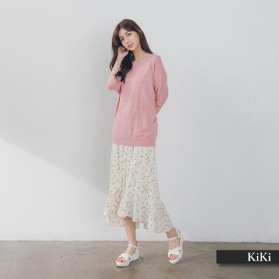 【KiKi】經典百搭涼爽-針織衫(三色)