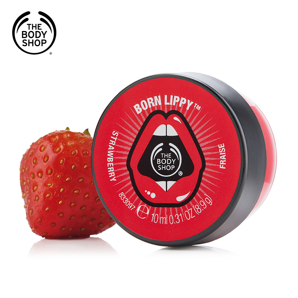 The Body Shop 鮮果草莓護唇油10ML
