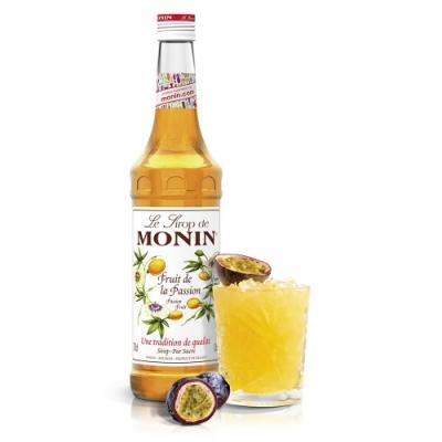 Monin糖漿-百香果1L