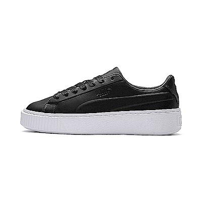 PUMA-Platform Seamless Wns女休閒鞋-黑色