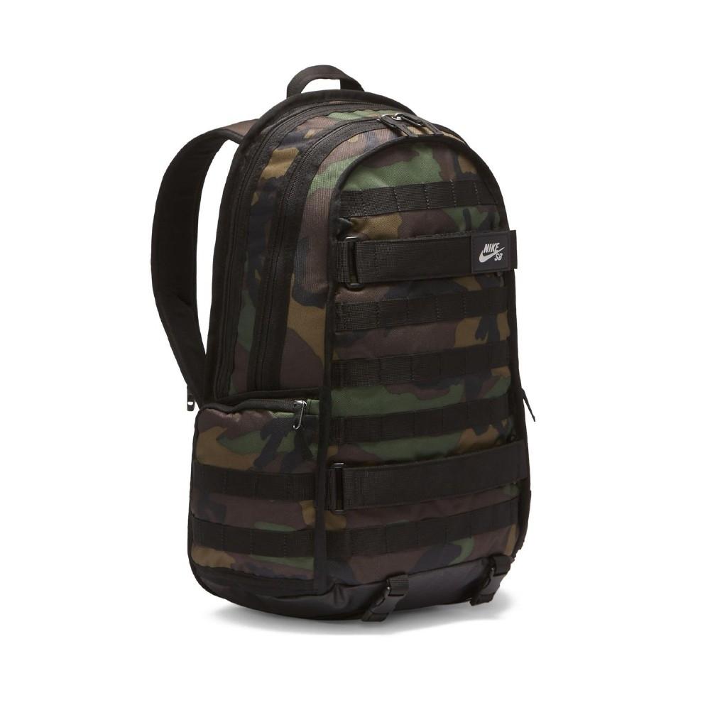 Nike 後背包 SB RPM Backpack 男女款 滑板概念 迷彩 筆電夾層 大容量 黑 綠 CK5888010
