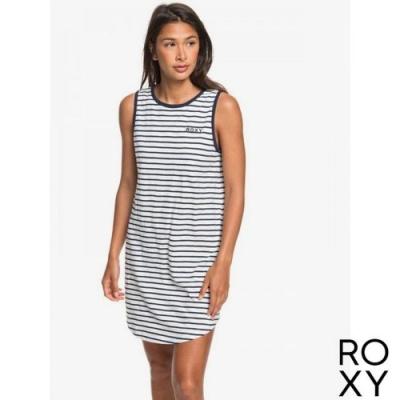 【ROXY】LOVE SUN TANK DRESS STRIPES 2 洋裝 黑白