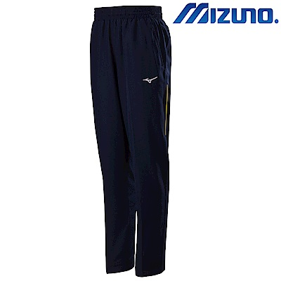 MIZUNO 美津濃 男平織運動套裝褲子 靛藍 32TD808684
