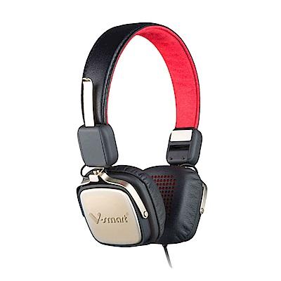 V-smart 經典復古款-蛋白質環保耳罩式耳機