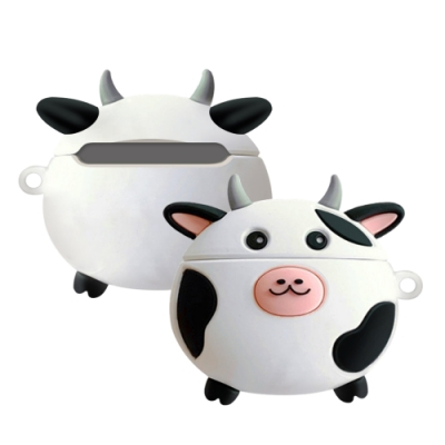 AirPodsPro保護套 乳牛 藍牙 耳機 保護殼 AirPods Pro 保護套-乳牛*1
