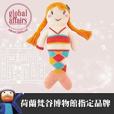 global affairs 童話手工編織安撫玩偶(36cm)-美人魚
