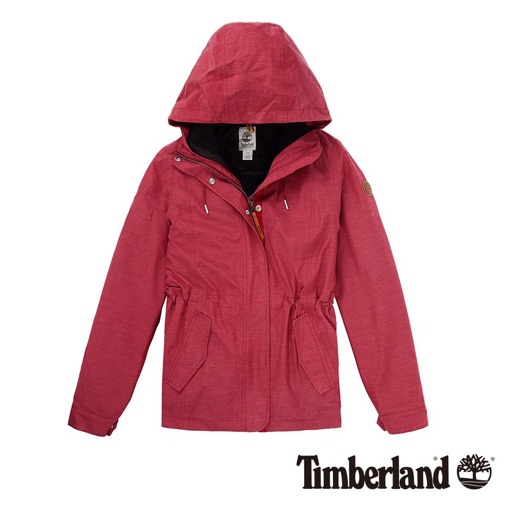 Timberland 女款藏紅色DV Mt Cabot 3合1CLS外套