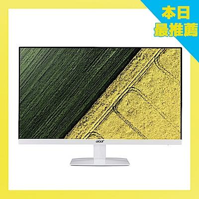 Acer HA270 27型IPS纖薄美型無邊框電腦螢幕