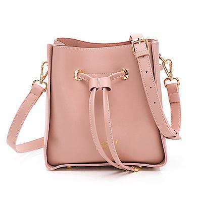 PLAYBOY- 水桶包 純粹風系列 -粉色