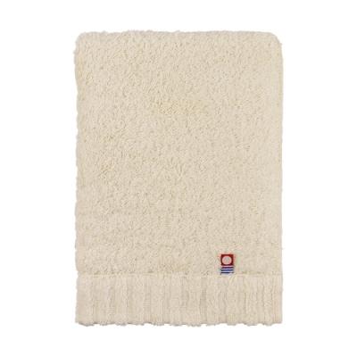 日本丸真 頂級今治極輕量中空棉浴巾-米