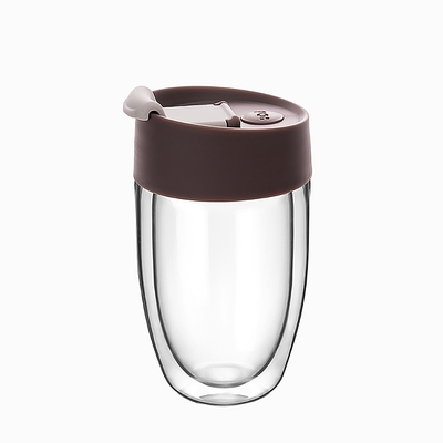 【PO:Selected】丹麥奇法雙層玻璃杯266ml(咖啡)