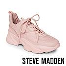 STEVE MADDEN-MOVEMENT 運動系素面增高休閒鞋-粉紅色