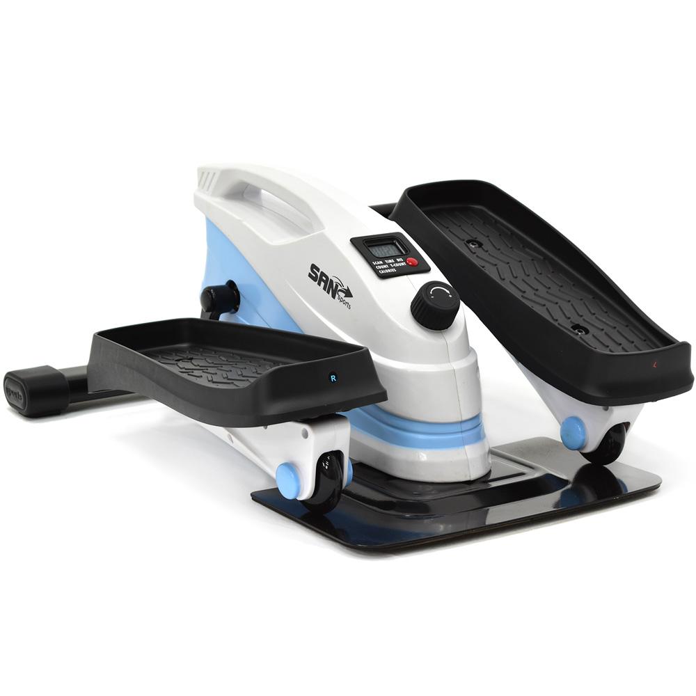多功磁控橢圓踏步機(結合跑步機+踏步機+健身車)