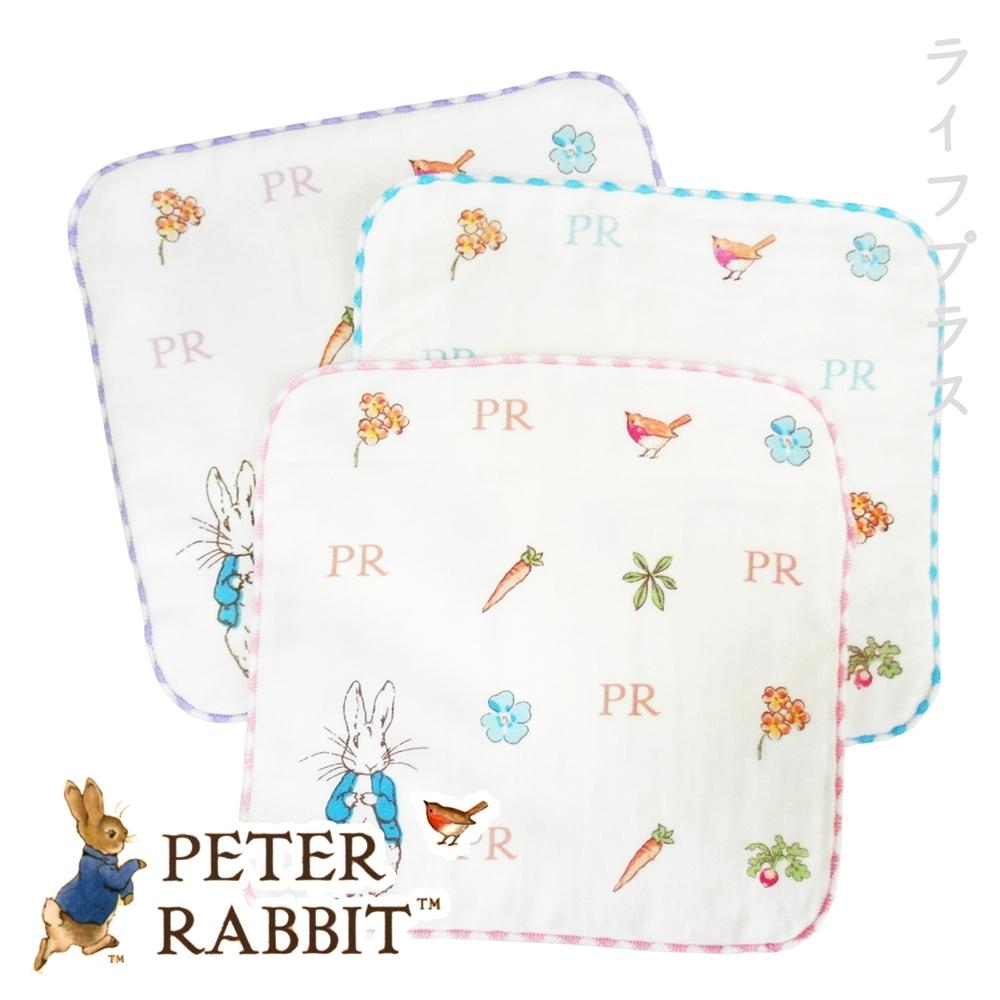 比得兔無捻手帕巾-PR25203/25205-MT-12入