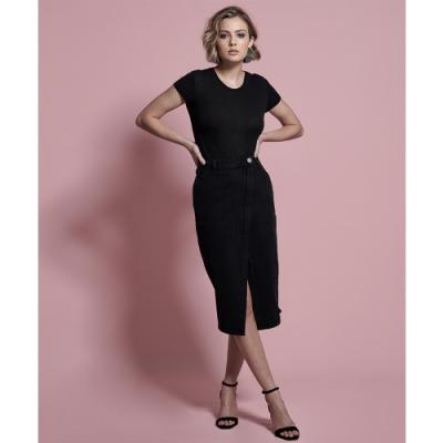 ONETEASPOON BLACK SOCIETY SKIRT 牛仔短裙(女)