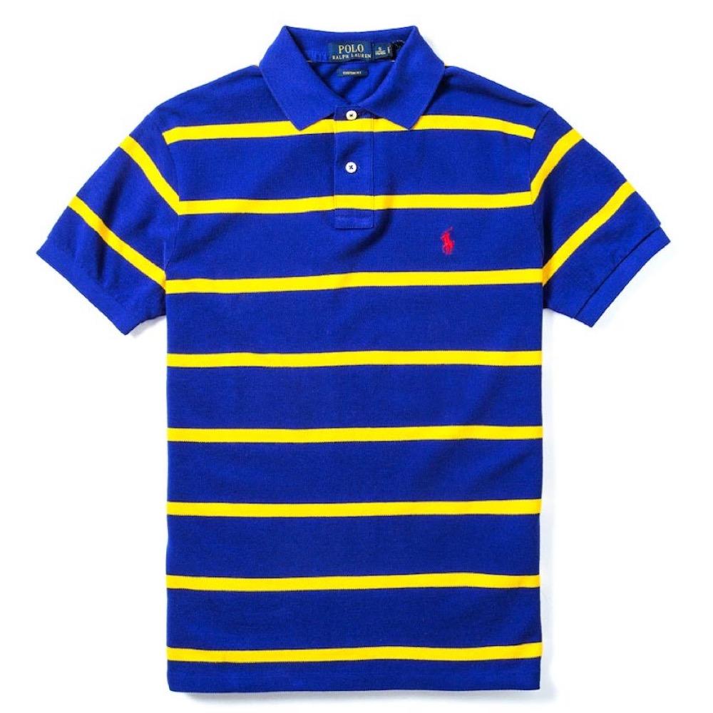 Polo Rlaph Lauren 經典電繡小馬Polo衫(Custom)-寶藍色
