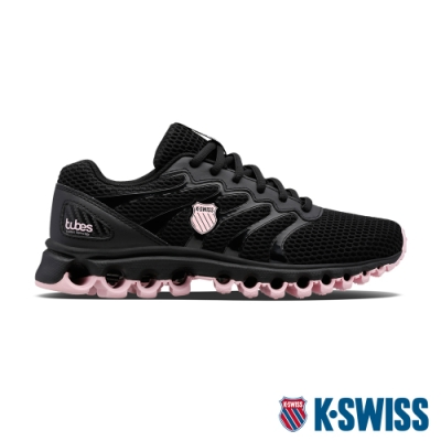 K-SWISS Tubes Comfort 200輕量訓練鞋-女-黑/粉紅