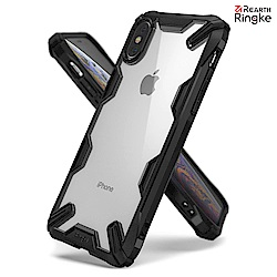 iPhone Xs [Ringke Fusion X] 透明背蓋手機保護殼