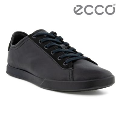 ECCO COLLIN 2.0 時尚單色休閒鞋 男鞋 黑色