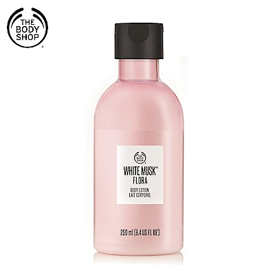 The Body Shop 花麝香晨露身體潤膚乳250ML