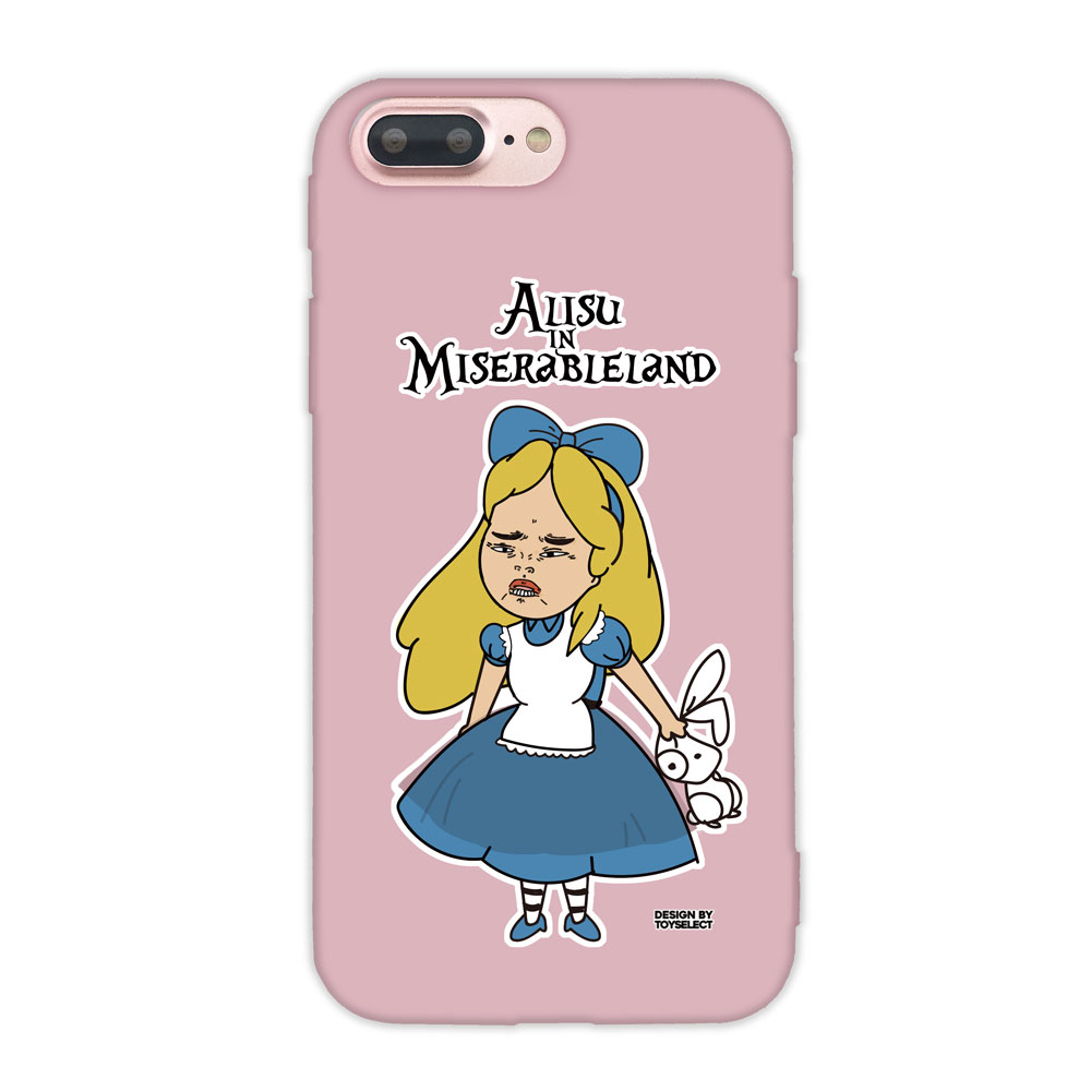 【TOYSELECT】iPhone 7/8 Plus 經典崩壞設計師手機殼:她不是愛麗絲