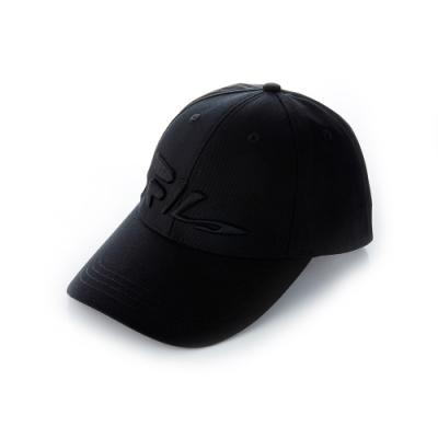 FILA 時尚LOGO帽-黑 HTT-5007-BK