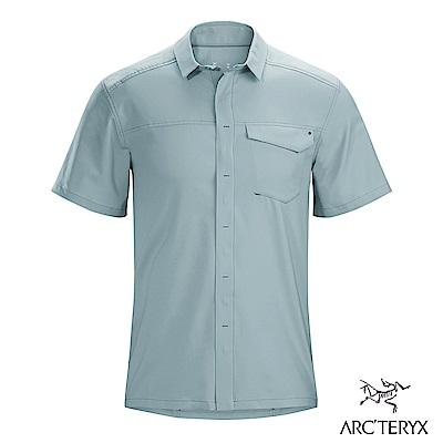 Arcteryx 始祖鳥 男 Skyline 抗UV短襯衫 機械灰