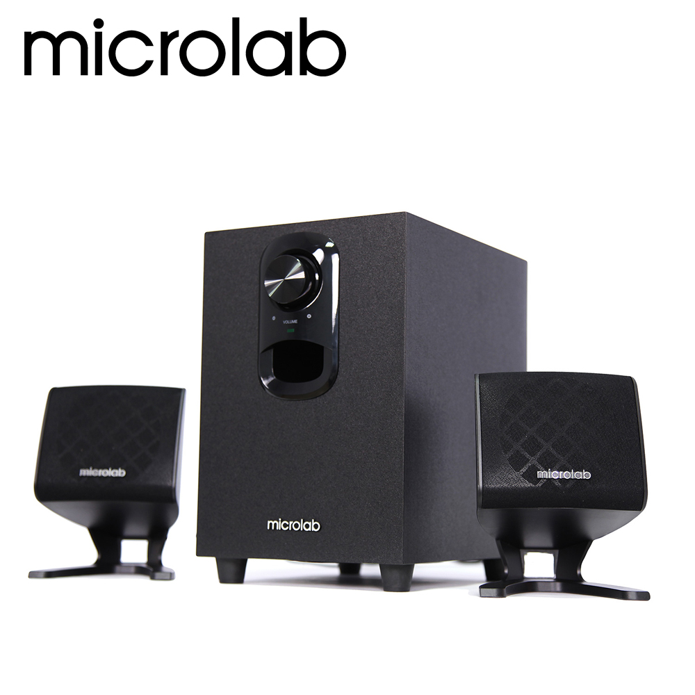 【Microlab】M-108 2.1聲道多媒體喇叭