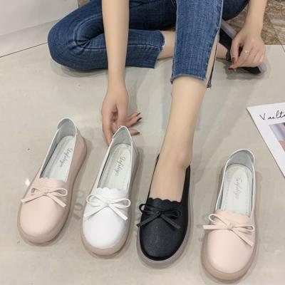 KEITH-WILL時尚鞋館-好穿好走款豆豆鞋(娃娃鞋/休閒鞋/平底鞋)(共3色)