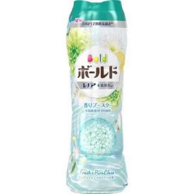 日本版【P&G】BOLD本格消臭衣物芳香粒 2020限定版香香豆520ml 純淨清香