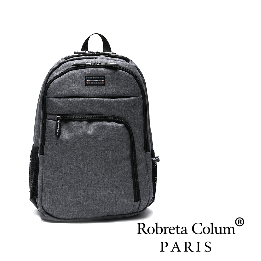 Roberta Colum - 時尚潮嚴選日系多拉鏈後背包-共2色