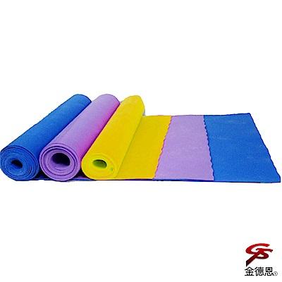 金德恩 台灣製造 多用途乳膠伸展瑜珈彈力帶 多種力道可選/韻律帶/拉力帶/阻力帶