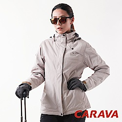 CARAVA 《女款極地禦寒外套》(淺卡其)