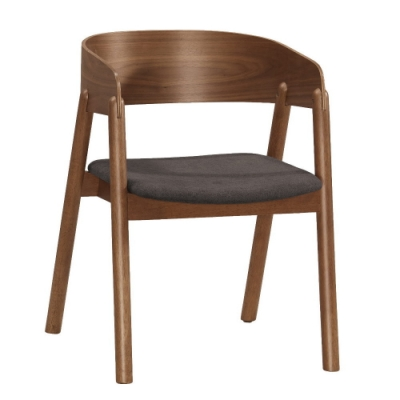 MUNA 雷克斯餐椅(布)(實木)(4入)  54X57.5X72.5cm